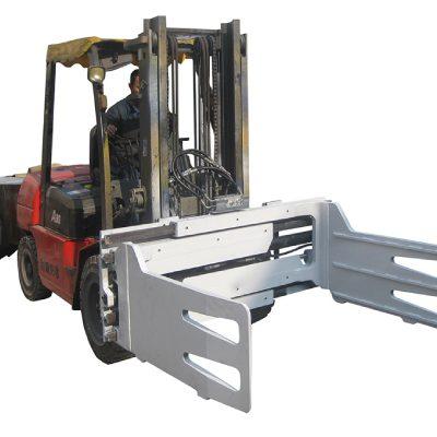 ລົດບັນທຸກ fork Rotating Bale Clamps ດ້ວຍລົດຍົກ Forklift