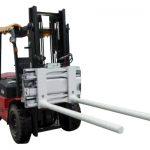 ແຂນ ໜີບ ຂ້າງຂອງແຂນປ່ຽນແຂນດ້ວຍລົດຍົກ Forklift
